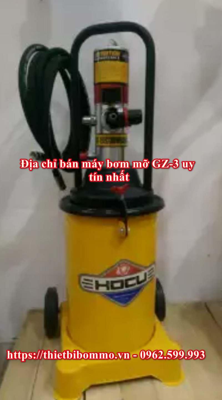 Hướng dẫn chi tiết cách sử dụng máy bơm mỡ Gz-3