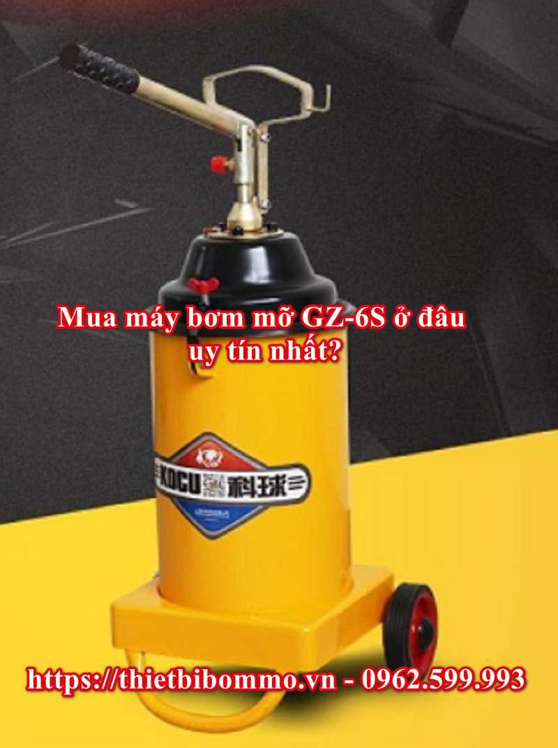 Ưu điểm nổi bật của máy bơm mỡ GZ-6S bạn không nên bỏ qua