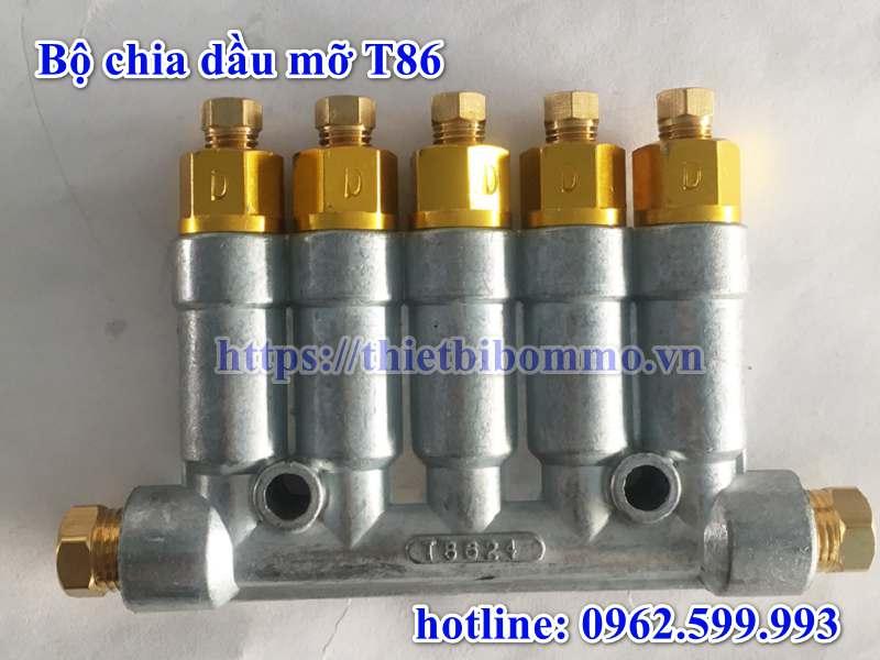Bộ chia dầu T86 Tùy Chỉnh tốc độ dòng chảy 0.60 ML
