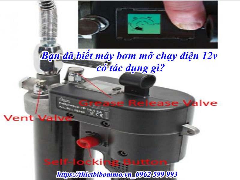 Địa chỉ bán máy bơm mỡ chạy điện 12v uy tín chất lượng cao tại Hà Nội