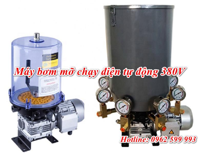 Máy bơm mỡ tự động chạy điện 380V DBT 15L chất lượng cao